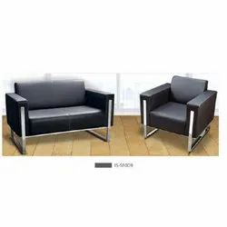 Black Three Seater Sofa Set, For Home,Office