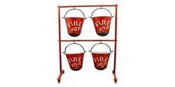 Fire Bucket Stand Without Shed