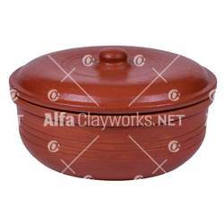 Clay Sauce Pot with Lid