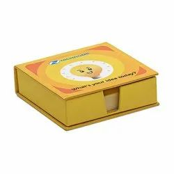 Cardboard Memo Box, For Gifting, Promotional