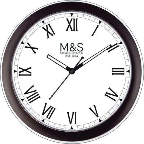 Round Logo Wall Clock