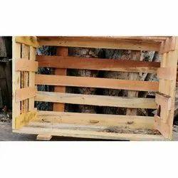 Rectangular Hard Wood 50 Kg Wooden Pallet Packaging Box