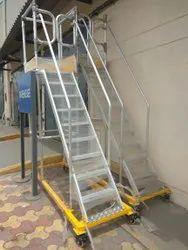 Aluminum Movable Ladder
