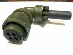 18-10L Power Connector, For Electrical, Metal
