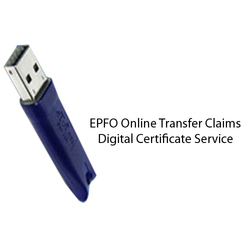 EPFO Online Transfer Claims Digital Certificate Service