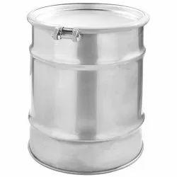 Natural/Metallic Aluminum Drum, For Commercial