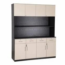 6 Feet Wooden Storage Office Cabinet