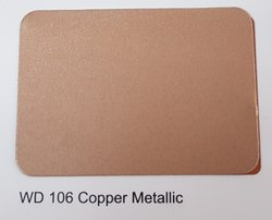 Wd-106 Cooper Metallic Colour ACP Sheets