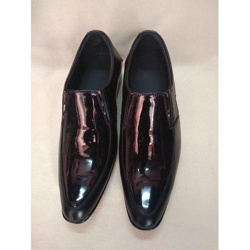 Black Formal Pointed Toe Shoes, Size: 5