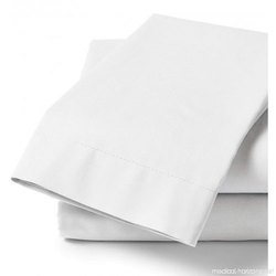 White Hospital And Hotel Bed Sheet