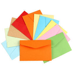 Available In Many Colors Colored Paper Envelope