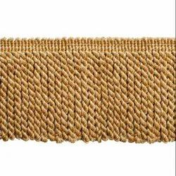 4.5 Inch Gold Mix Swirl Bullion Fringe