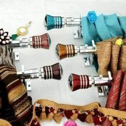 Designer Zinc Curtain Brackets