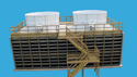 Three Phase Counter Flow Wooden Induced Draft Cooling Tower, Capacity (litre/sec): 100 L/sec, Induced Draft Type