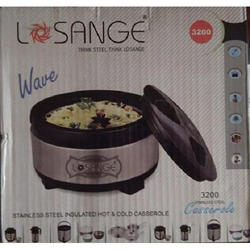 Losange Wave 3200 Casserole - Stainless Steel