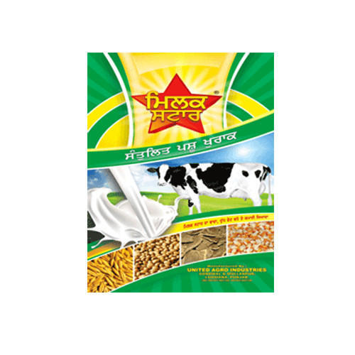 Milk Star Special Churi Green Cattle Feed, Packaging Type: PP Bags