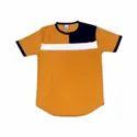 Printed Mens Half Sleeve Cotton Casual T Shirt