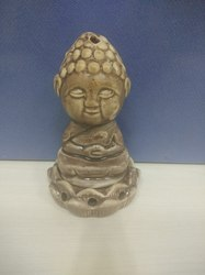 Ceramic Buddha Incense Burner Cum Diffuser