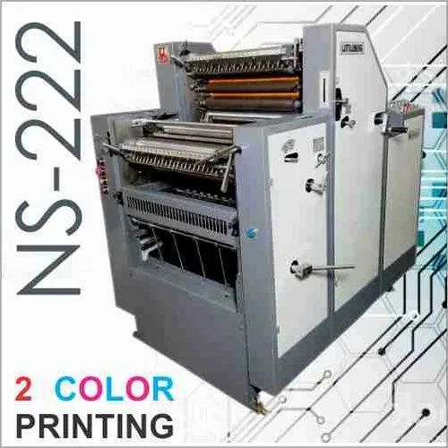 Non Woven Bag Printing Machine - Two Color Satellite Offset Printing