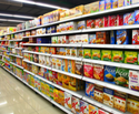 Supermarket Wall Display Rack