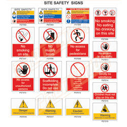 Site Safety Signage