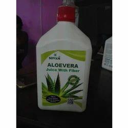 Organic Aloe Vera Juice with Fiber