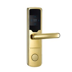 Microleaf Electronic Hotel RFID Door Lock MHD-H1008, Stainless Steel, Packaging Size: 3kg