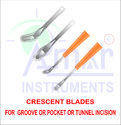 Ophthalmic Crescent Blades