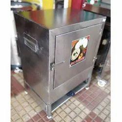 KMS Stainless Steel Idli Steamer Machine, For Commercial, 220-240 V