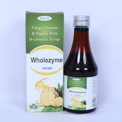 200 mL Fungal Diastase and Papain with B-Complex Syrup