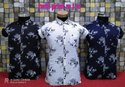 Cotton Casual Wear Mens Floral Printed Shirt