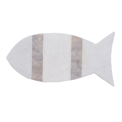 Fish Design Marble Chopping Board