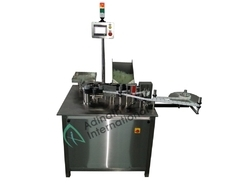 Automatic High Speed Linear Vial Sticker Labeling Machine