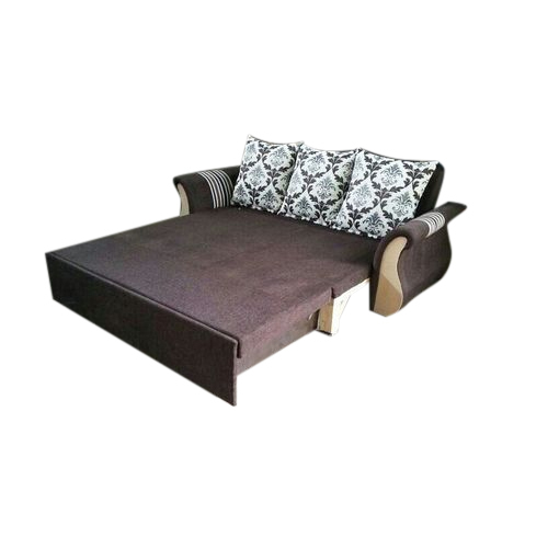 2dd2e66426c Brown L Shape Sofa Cum Bed