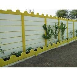 8 Feet Cement Compound Wall