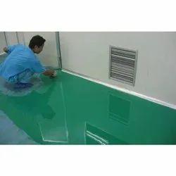 Flooring Epoxy Paint, Packaging Type: Bucket