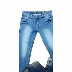 Casual Wear Men Party Wear Faded Denim Jeans