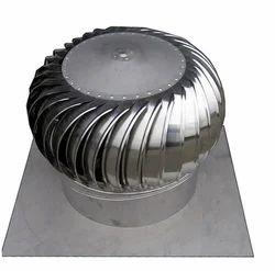 Round Wind Turbine Ventilator