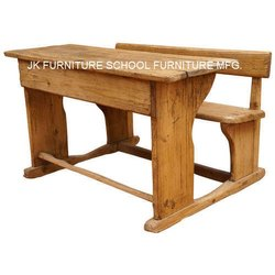 Kids Wooden School Desk