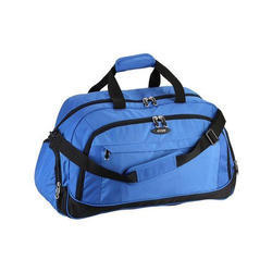 Polyester Blue Traveling D Bag, Size: 22x18 Inch