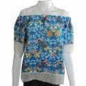 Cotton Printed Ladies Fancy Top