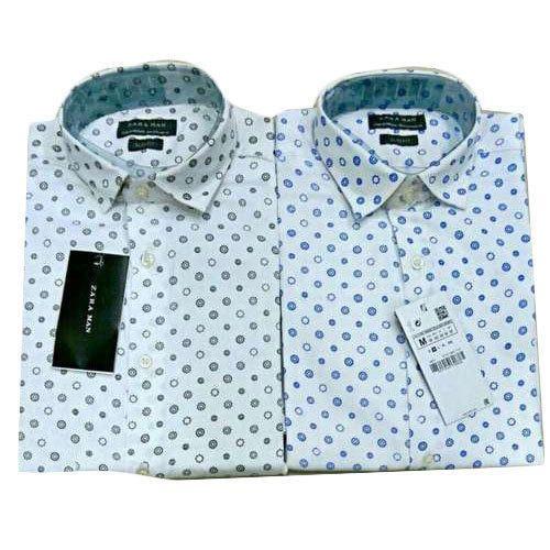 e63eb890 Printed Zara Men''s Formal Shirt, Charles Mart | ID: 20417509962