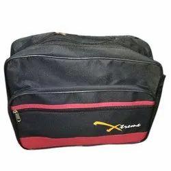Black Plain Office File Bag
