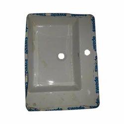 White Ceramic Hand Wash Basin, Packing Type: Carton