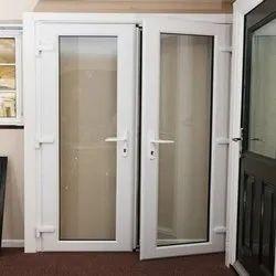 Full Glass UPVC Doors