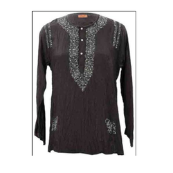 Embroidery on Kurti