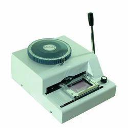 Okoboji ID Card PVC Embossing Machine