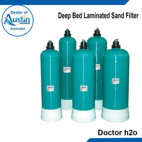 Swimming Pool Filters Deep Bed Laminated Sand Filter Manufacturer From Kolkata