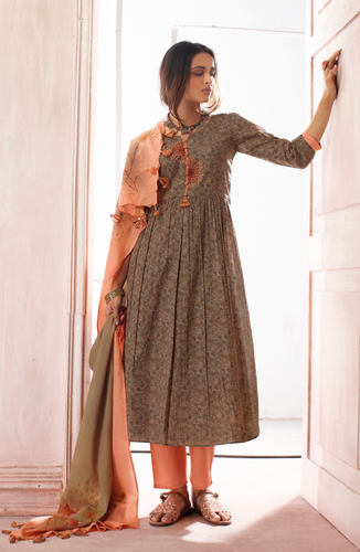 a5a4899426 Party Wear Printed Ganga Suit, Rs 1775 /piece, Ganpati Textiles | ID ...