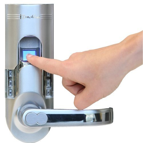 Itouchless Biometric Door Lock, Stainless Steel